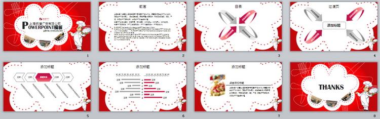 餐饮,服务,培训,ppt模板,创意餐厅,环境展示,川菜系餐厅ppt模板