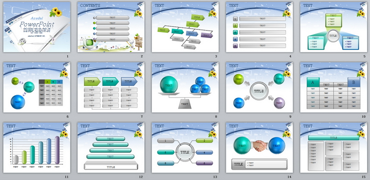 白色简约浏览器计算机信息科技ppt模板