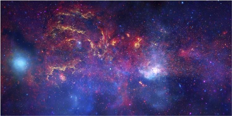 背景 壁纸 皮肤 星空 宇宙 桌面 750_375图片